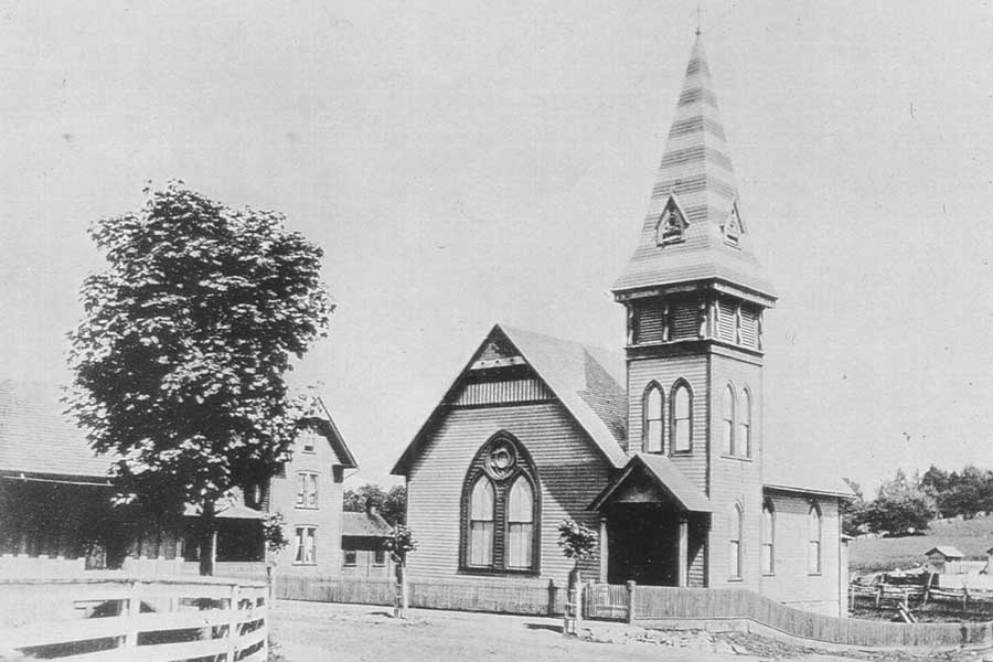 St. Paul's Church in 1888