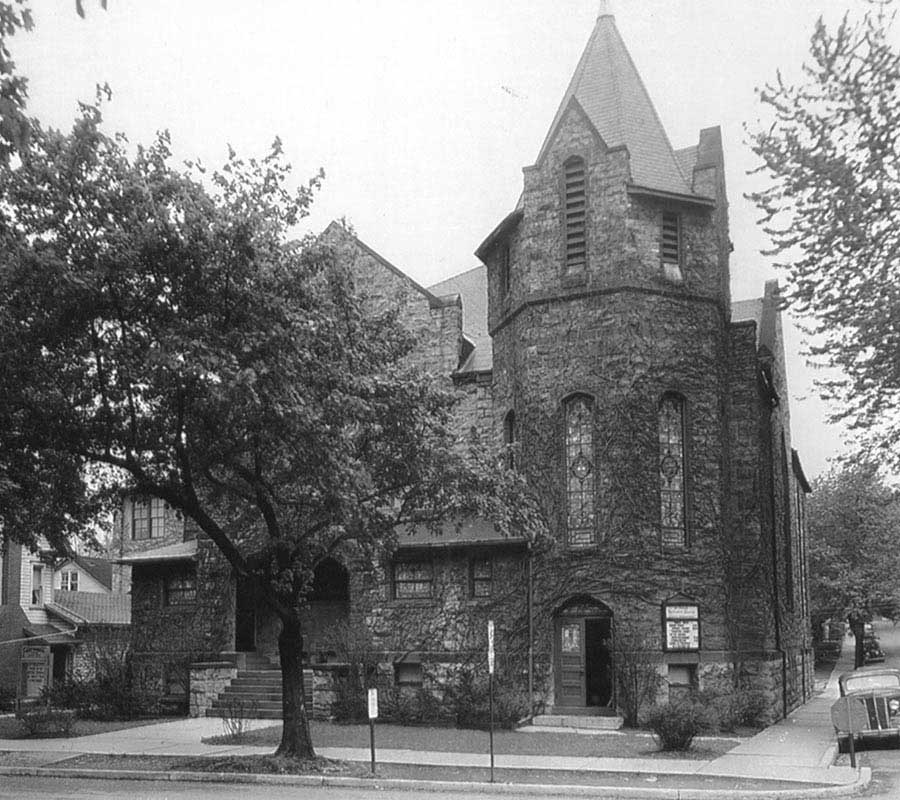 St. Paul's Church in the 1940s
